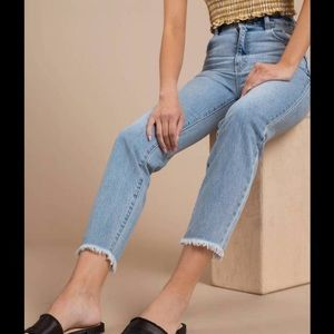 J GALT brandy melville high waisted ankle jeans S